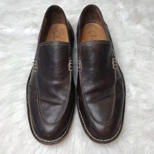 Cole Haan Men's Brown Slip On Dress Shoes